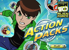 Ben 10 Action Packs