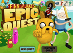 Finn And Jake Epic Quest