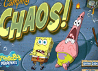 Spongebob Camping