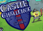 Spongebob Castle Challenge The Storm
