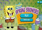 Spongebob Spring Showers